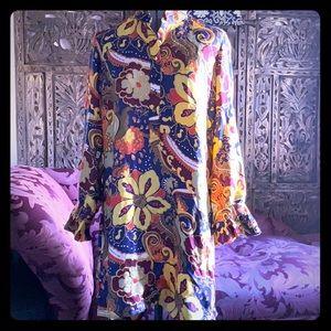 J. Crew 100% silk Rare dress